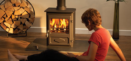 Devon Stoves - Smaller multifuel stove