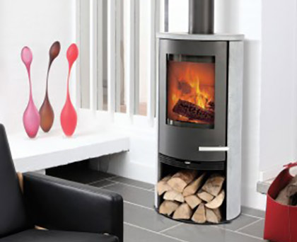 Devon Stoves - Contemporary stove